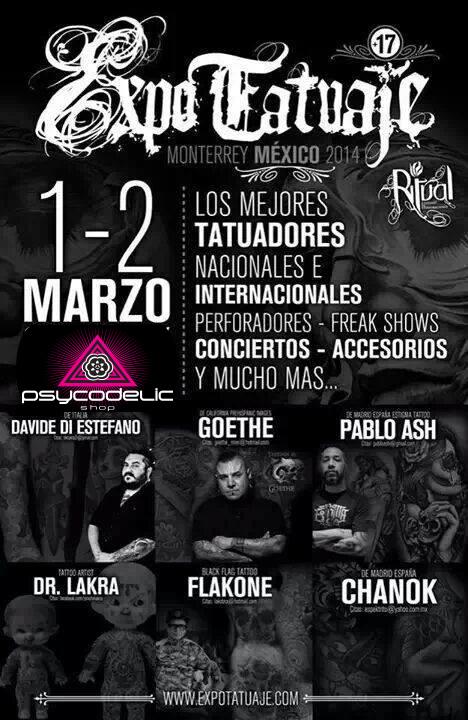 Expo Tatuaje Monterrey 2014