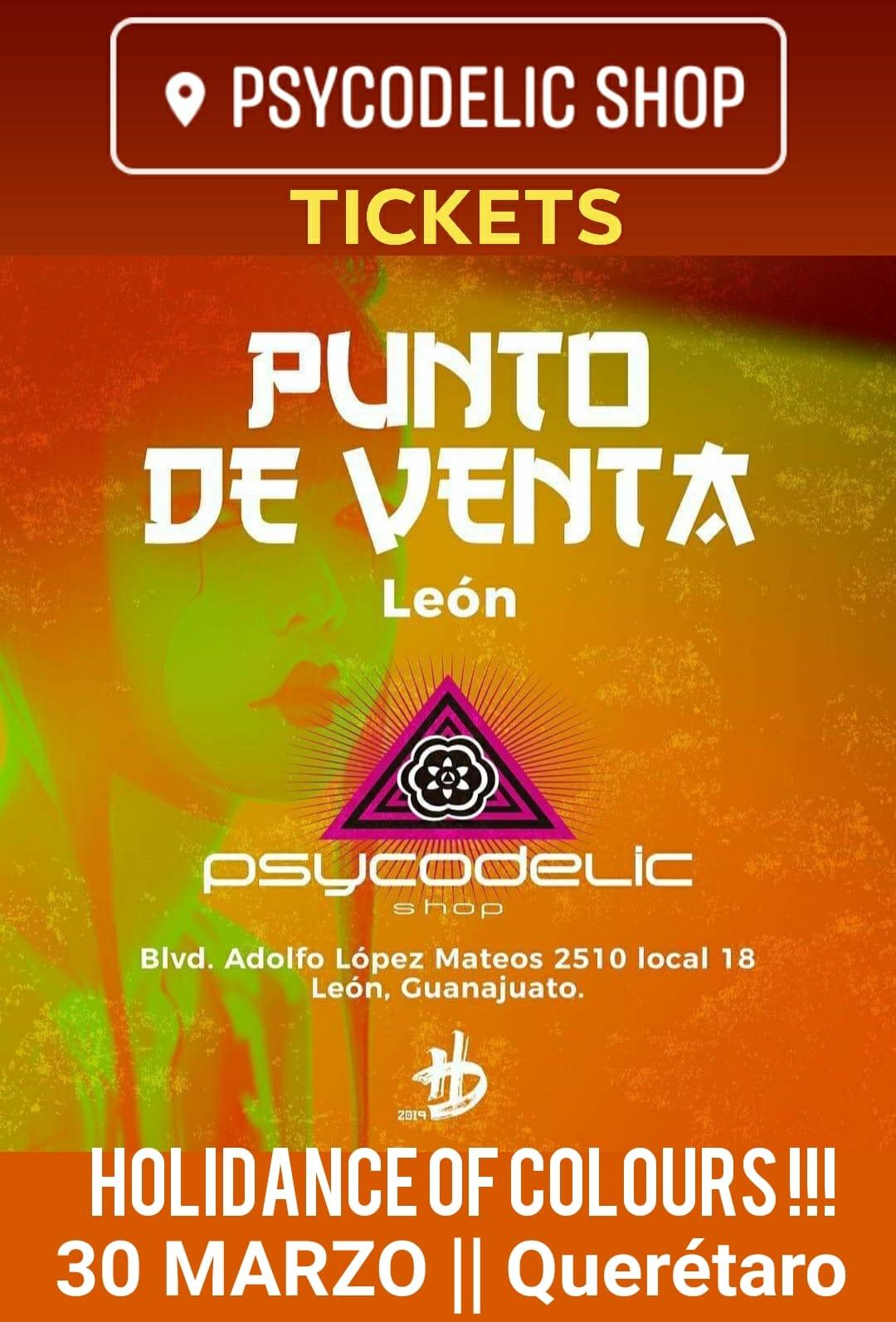 Holi Dance Of Colours Queretaro 2019 Venta de Boletos Psycodelic Shop León Gto